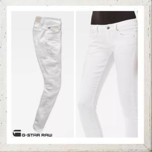 G-STAR RAW ジースターロウ SKINNY FIT ストレッチカラーパンツ color:OPTICAL WHITE(ホワイト) angland 03