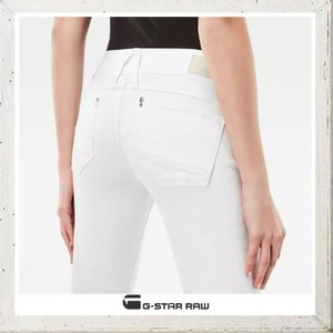 G-STAR RAW ジースターロウ SKINNY FIT ストレッチカラーパンツ color:OPTICAL WHITE(ホワイト) angland 05