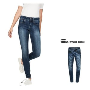G-STAR RAW(ジースターロウ)Lynn Super Skinny Jeans スキニージーンズ color:DK AGED(ブルー)|angland