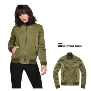 ★G-STAR RAW(ジースターロー) スリムFIT ボンバージャケット color:Sage(カーキ)|angland