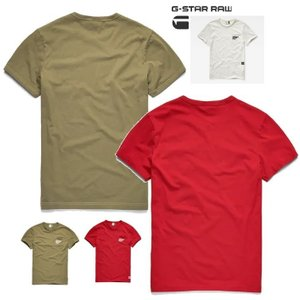 G-STAR RAW(ジースターロウ) 胸ポケット&ロゴ 半袖Tシャツ color:Sage(カーキグリーン)|angland|03