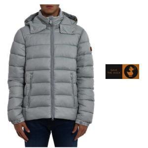 ★SAVE THE DUCK(セイブザダック)GIGA D3556M ナイロンキルティングジャケット Color:GREY(グレー) angland