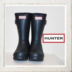 HUNTER【ORIGINAL SHORT CLASSIC】ショート丈・ラバーブーツ color:【NAVY】ネイビー|angland
