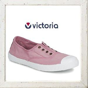 Victoria(ヴィクトリア) 6623 INGLESAS ELASTIC TENIDO PUNT キャンバススニーカー ローシューズcolor:ROSE【PINK】ピンク angland