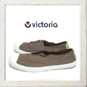 Victoria(ヴィクトリア) キャンバススニーカー color:TAUPE(KAHKI)カーキ angland