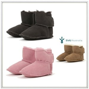 EMU Australia(エミュー オーストラリア)BABY BOOTIE ムートンブーツ COLOR :PINK(ピンク)・CHOCOLATE(チョコレート)|angland