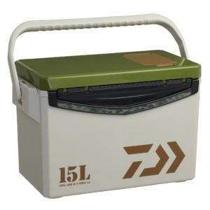 【送料無料2】クーラーボックス ダイワ クールラインα ライトソルト S1500X LS グリーン ...