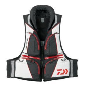 【送料無料5】ダイワ トーナメント バリアテック 枕つきサイバーフロート ブラック 2XL DF-3508|angle-webshop