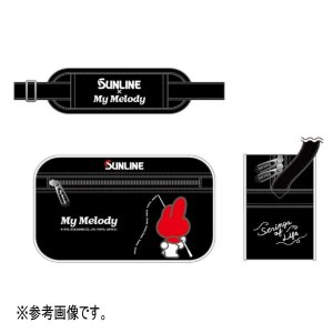 サンライン マイメロディ ショルダーポーチ SKT-1864 ブラック 【4】