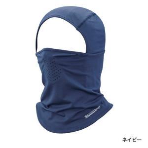 【メール便対応】シマノ SUN PROTECTION フルフェイスマスク AC-062T ネイビー ...
