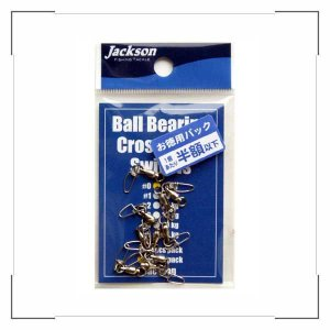 ジャクソン ボールベアリング・クロスロックスイベル #0 ゆうパケットOK|anglers-sarai