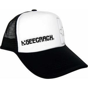 GEECRACK(ジークラック) メッシュキャップ01 ブラックホワイト|anglers-sarai