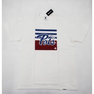 テトラポッツ tpt-048 ボーダーティー バニラホワイト Lサイズ tetrapots Tシャツ シャツ bordertee bwh ユニセックス anglersweb