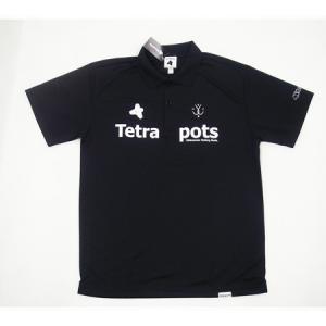 フィッシングウェア テトラポッツ Tetra Polo S ブラックの商品画像 ナビ