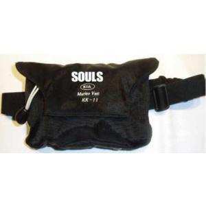 ソウルズ 自動膨張式ライフベスト ポーチ式 souls|anglersweb