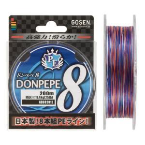 ゴーセン PEドンペペ8 200m 1号 anglersweb