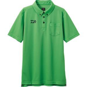 ダイワ (Daiwa) DE-6507 グリーン 2XLサイズ(ボタンダウンポロシャツ) anglersweb