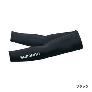シマノ AC-067Q SUN PROTECTION アームカバー S ブラックの商品画像|ナビ