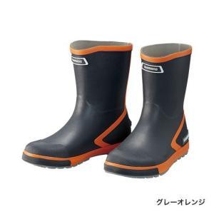 シマノ (Shimano) FB-065R グレーオレンジ Sサイズ(24.0〜24.5) ショートデッキブーツ|anglersweb