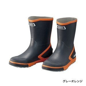 シマノ (Shimano) FB-065R グレーオレンジ LLサイズ(26.5〜27.0) ショートデッキブーツ|anglersweb