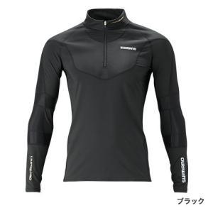 シマノ (Shimano) IN-081S ブラック Mサイズエキスパートインナーシャツ anglersweb