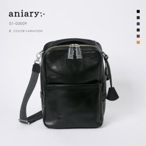 アニアリ・aniary ショルダーバッグ【送料無料】Antique Leather 牛革 Shoulder Bag 01-03009|aniary-shop