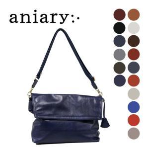 アニアリ・aniary バッグ メッセンジャー【送料無料】アンティークレザー  Messenger 01-04000|aniary-shop