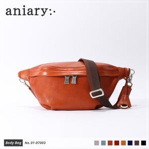 アニアリ・aniary バッグ ボディバッグ【送料無料】アンティークレザーボディバッグ Body Bag 01-07003|aniary-shop