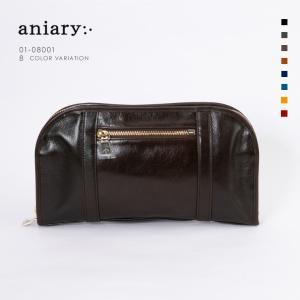 アニアリ・aniary バッグ クラッチバッグ【送料無料】アンティークレザー クラッチ Clutch 01-08001|aniary-shop