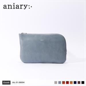 アニアリ・aniary クラッチバッグ【送料無料】アンティークレザー Antique Leather(牛革) ClutchBag マルチケース 01-08004|aniary-shop