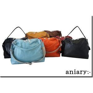 アニアリ・aniary バッグ ショルダーバッグ【送料無料】アンティークレザー 2WAYショルダー 2WAY Shoulder 01-09000|aniary-shop