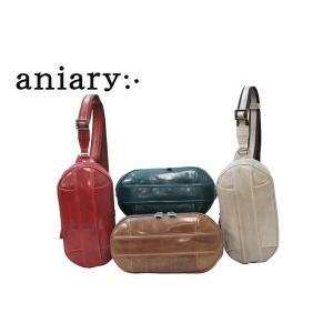 アニアリ・aniary バッグ ボディバッグ【送料無料】アイディアルレザー タートルショルダー Turtle Shoulder 02-03000|aniary-shop
