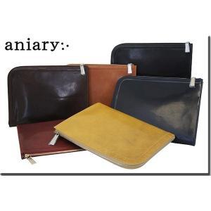 アニアリ・aniary バッグ クラッチバッグ【送料無料】アイディアルレザー クラッチケース Clutch Case 02-08000|aniary-shop