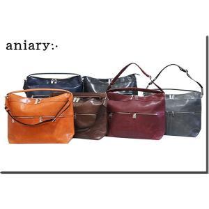 アニアリ・aniary バッグ ショルダーバッグ【送料無料】 アイディアルレザー 2WAYショルダー 2WAY Shoulder 02-09000|aniary-shop