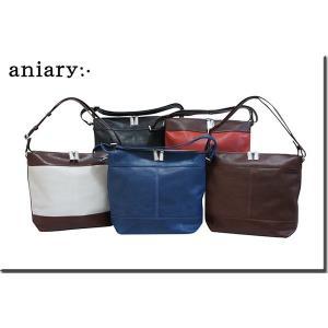 アニアリ・aniary バッグ ショルダーバッグ【送料無料】 アイディアルパンチングレザー ショルダートートS Shoulder S 04-03000|aniary-shop