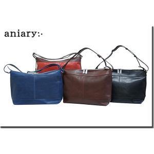 アニアリ・aniary バッグ ショルダーバッグ【送料無料】 アイディアルパンチングレザー ショルダートートL Shoulder L 04-03001|aniary-shop