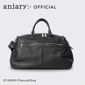 アニアリ・aniary バッグ ボストンバッグ【送料無料】シュリンクレザー ボストン Boston 07-06000|aniary-shop