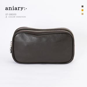 アニアリ・aniary クラッチケース【送料無料】Shrink Leather 牛革 Clutch case 07-08000|aniary-shop