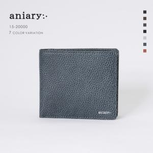 アニアリ・aniary  ウォレット【送料無料】Grind Leather 牛革 Wallet 15-20000|aniary-shop
