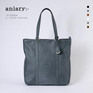 アニアリ・aniary トートバック【送料無料】<br>Grind Leather 牛革 Tote 15-02004|aniary-shop
