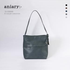 アニアリ・aniary ショルダーバッグ【送料無料】<br>Grind Leather牛革 Shoulder Bag15-03000|aniary-shop