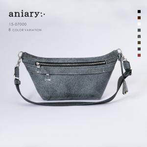 アニアリ・aniary ボディ バッグ【送料無料】グラインドレザー BodyBag 15-07000|aniary-shop