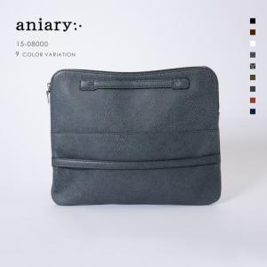 アニアリ・aniary クラッチ バッグ【送料無料】グラインドレザー Clutch 15-08000|aniary-shop
