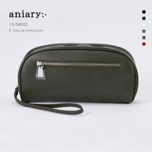 アニアリ・aniary クラッチバッグ【送料無料】グラインドレザー Grind Leather(牛革) ClutchBag 15-08002|aniary-shop