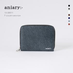 アニアリ・aniary コインケース【送料無料】Grind Leather 牛革 Coin Case 15-20011|aniary-shop