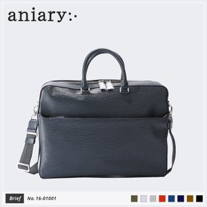 【aniary|アニアリ】Wave Leather ウェーブレザー 牛革 Brief ブリーフケース 16-01001 [送料無料]|aniary-shop