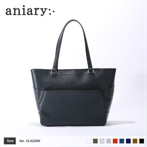 【aniary|アニアリ】Wave Leather ウェーブレザー 牛革 Tote トートバッグ 16-02000 [送料無料]|aniary-shop
