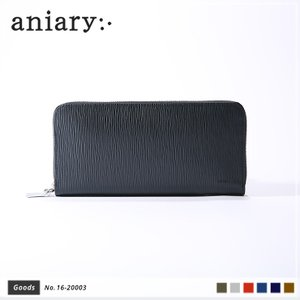 【aniary|アニアリ】Wave Leather ウェーブレザー 牛革 Goods ウォレット 長財布 16-20003 [送料無料]|aniary-shop