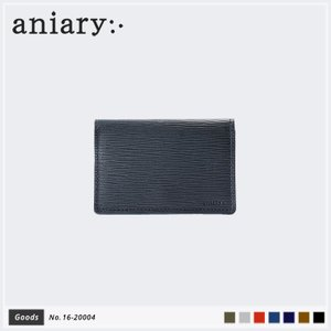 【aniary|アニアリ】Wave Leather ウェーブレザー 牛革 Goods カードケース 名刺入れ 16-20004|aniary-shop