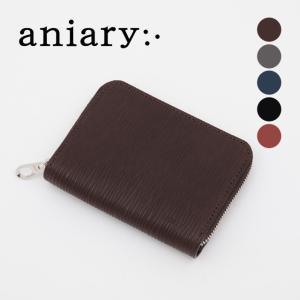 アニアリ・aniary コインケース【送料無料】Wave Leather 牛革 Wallet 16-20011|aniary-shop
